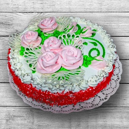 Торт Нежная роза