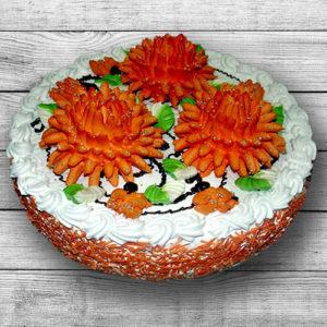 Торт Хризантема