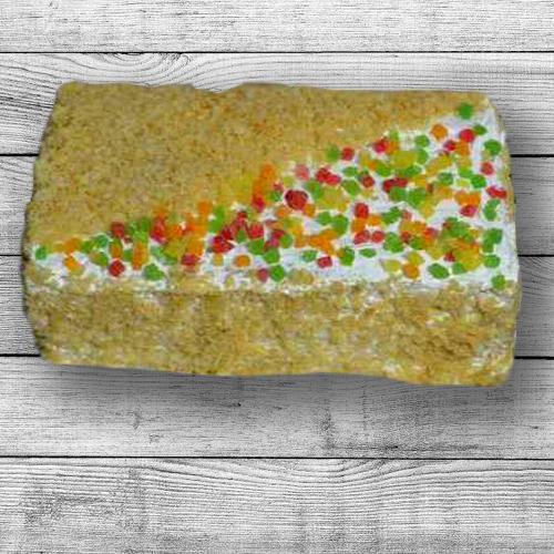 Торт Наполеон с абрикосом