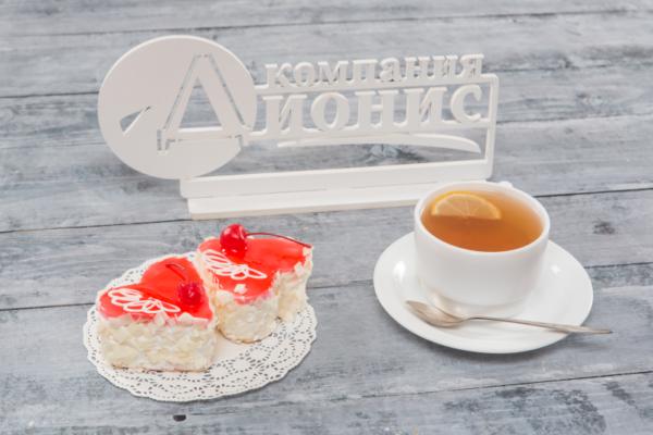 Пирожное «Валентинка» Премиум